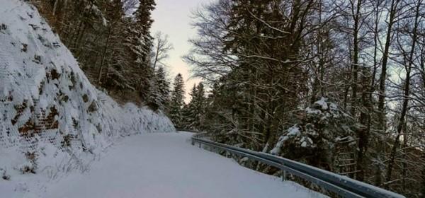 Zimski uvjeti u NP Sjeverni Velebit