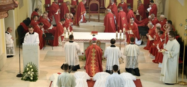 27. lipnja - zaređenje trojice svećenika