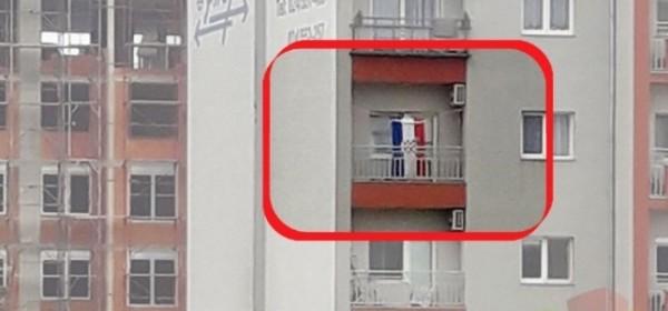 U SUBOTICI UHIĆEN HRVAT: Izvjesio je hrvatsku zastavu i slušao Thompsona