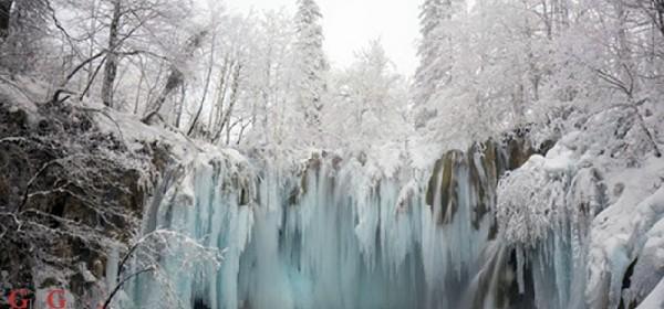 Na Forbesovoj listi zaleđeni slapovi Plitvičkih jezera