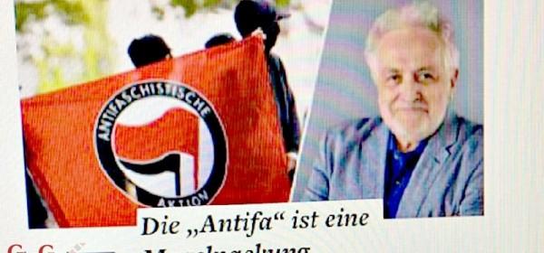 """UGLEDNI NJEMAČKI MEDIJ: """"Antifašizam je fašizam 21. stoljeća!"""""""