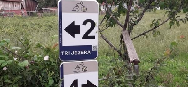 Gacke biciklističke staze - za osvježenje tijela i uma