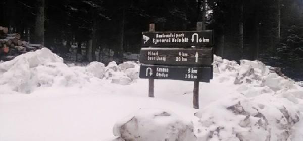 NP Sjeverni Velebit zbog snijega i jakog vjetra nije preporučljiv za posjetitelje