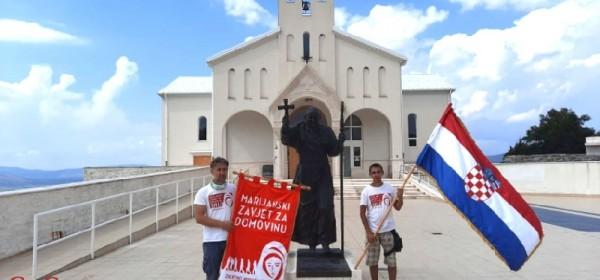Završilo 6. zavjetno hodočašće bratovštine Marijanski zavjet za Domovinu