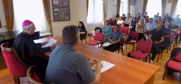 Stručno vijeće vjeroučitelja Gospićko-senjske biskupije o pozitivnom utjecaju vjeronauka