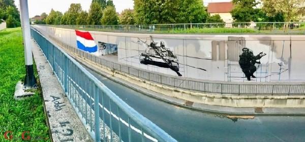 O kako li im samo smeta mural u čast Blage Zadre
