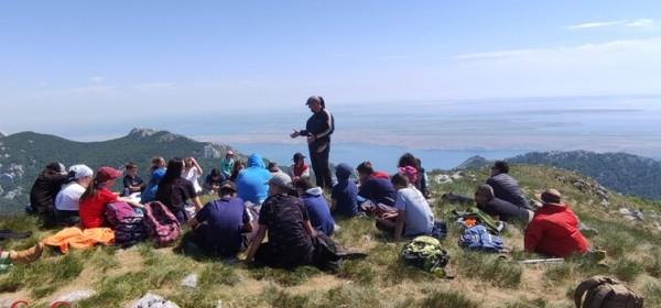 Nacionalno planinarenje Zdruga katoličkih skauta Hrvatske na Velebitu