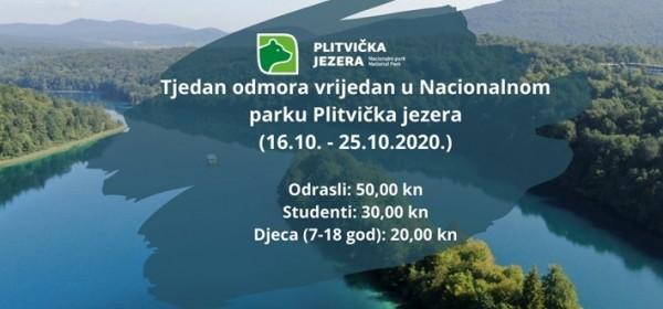 Na Plitvičkim jezerima - Tjedan odmora vrijedan