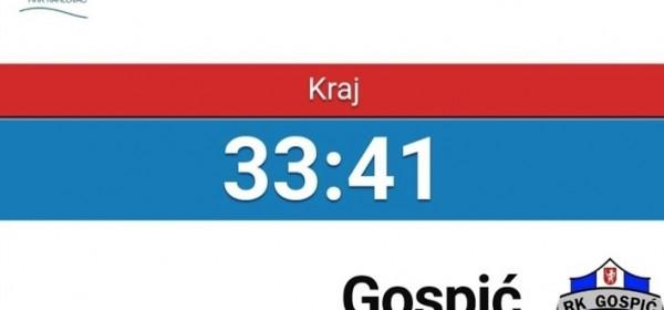 Seniori Gospića pobijedili Karlovčane