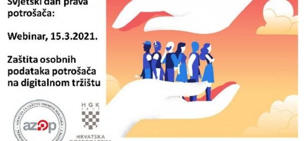 Webinar povodom Svjetskog dana prava potrošača