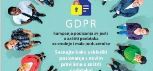 Besplatna online radionica Zaštita osobnih podataka i usklađivanje s GDPR-om u zaštitarskoj djelatnosti