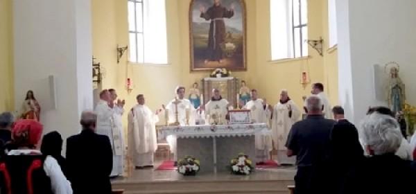 Proslavljen blagdan sv. Franje u Zavalju (BiH)