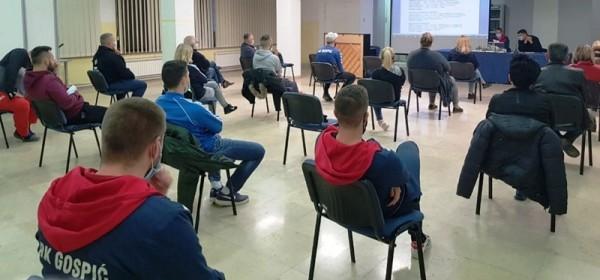 Održana redovna sjednica Skupštine RK Gospić