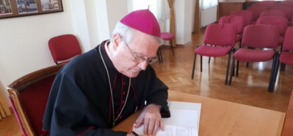 Pismo biskupa Križića na znanje i ravnanje