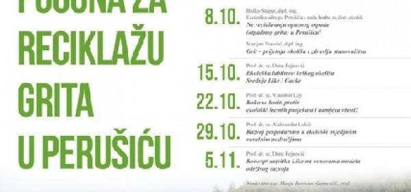 Ekološka udruga Perušić traži podršku građanstva