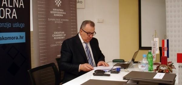 Održana hibridna sjednica Gospodarskog vijeća Županijske komore Otočac