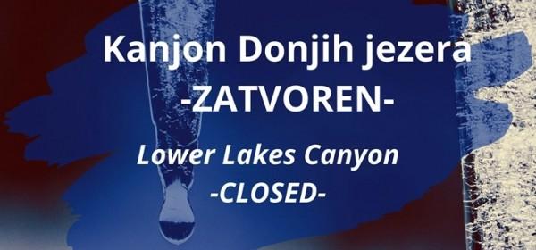 Ograničenja u posjeti NP Plitvička jezera