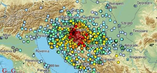 Evo što se dogodilo na dubini od 10 km nakon potresa