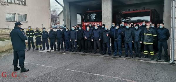 Vatrogasci Ličko-senjske županije odlaze u Petrinju na ispomoć građanima