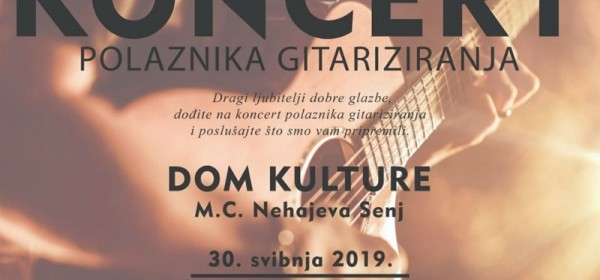 Drugi koncert Škole gitare u Senju