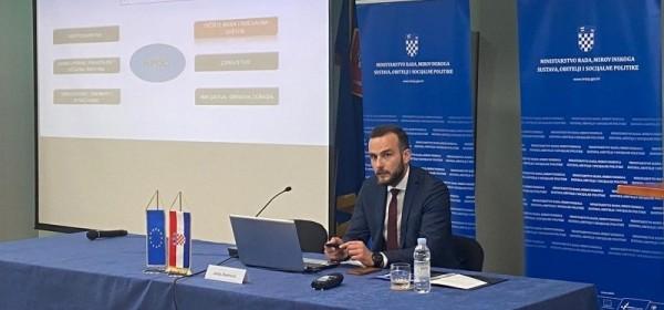 Ministar Josip Aladrović predstavio NPOO za tržište rada i socijalnu zaštitu