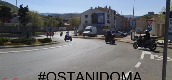 Motociklisti, cesta nije pista #OSTANIDOMA