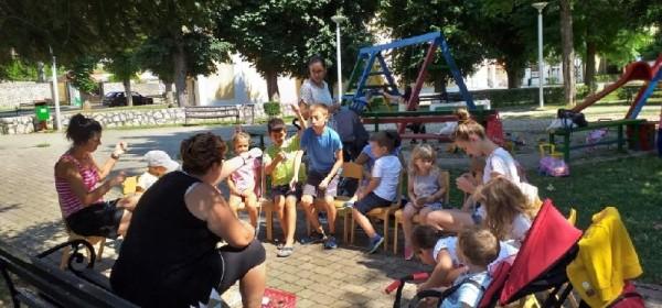 Završni tjedan dječjih radionica pun akcije u Perušiću