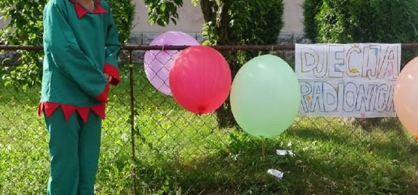 Održana Dječja radionica kreativnog učenja glagoljice u Brinju