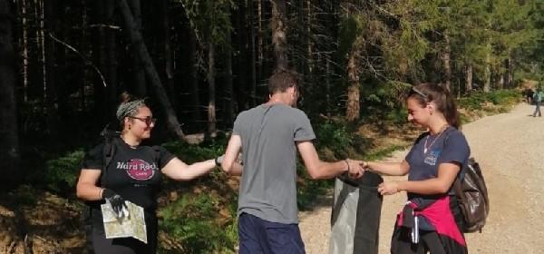 Volonterski kamp Europskih snaga solidarnosti u Velikom Žitniku