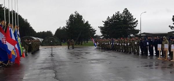 U Udbini otvorenje natjecanja za najspremnijeg vojnika