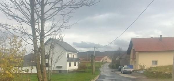 Modernizacija lokalne ceste u naselju Draženovići - Brinje