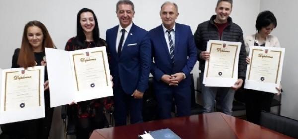 Uručene diplome novim majstorima obrtnicima