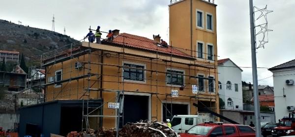 Adaptacija zgrade Dobrovoljnog vatrogasnog društva Senj