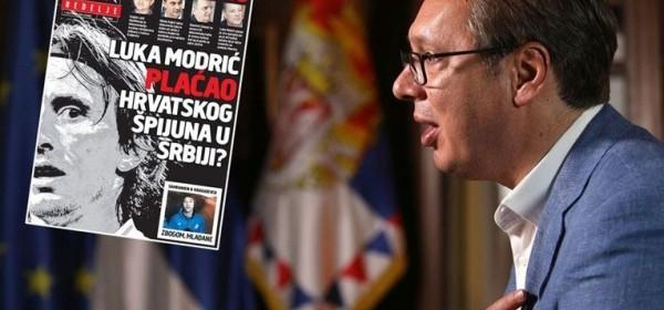 Vučić odlepeo: za špijuniranje Srbije optužili i Luku Modrića