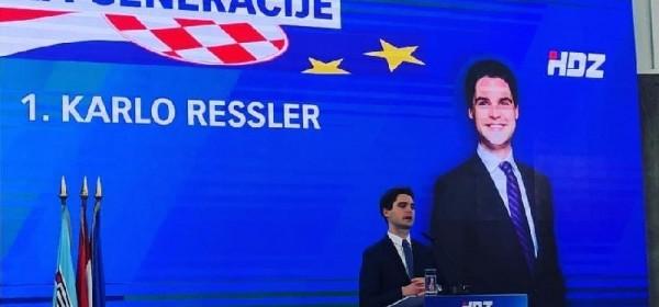 Kandidati HDZ-a za izbore za EU parlament danas u Korenici i Gospiću