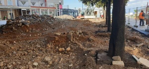 Radovi na uređenju Pavlinskog trga i dijela Ulice Potok