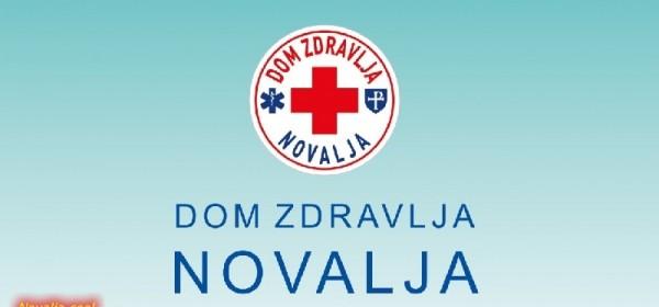 Obavijest iz Doma zdravlja Novalja