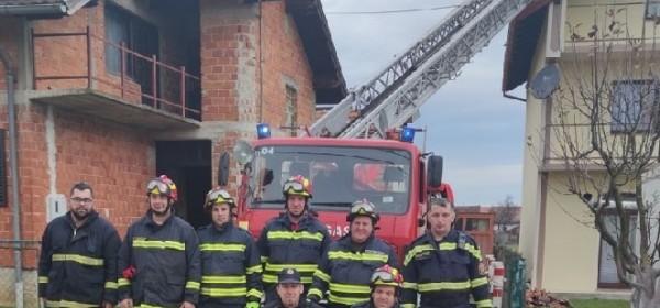 Vatrogasci VZLSŽ dnevno saniraju 30 objekata u Petrinji