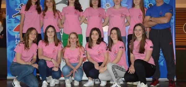 """""""Gacki sokoli"""" na Državnom prvenstvu školskih sportskih društava u Poreču"""
