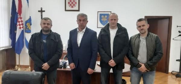 Predstavnici Zrakoplovnog saveza LSŽ-e na prijamu kod župana Milinovića