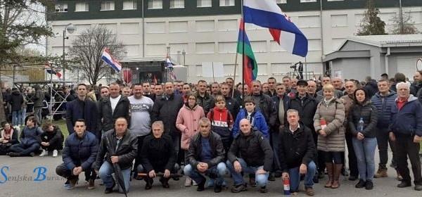 Delegacija Grada Senja u Koloni sjećanja u Vukovaru