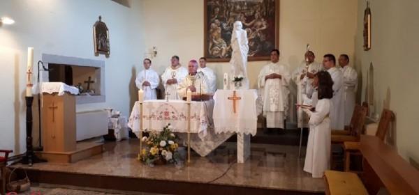 Biskup Križić u Svetom Roku predvodio svetkovinu župnog patrona