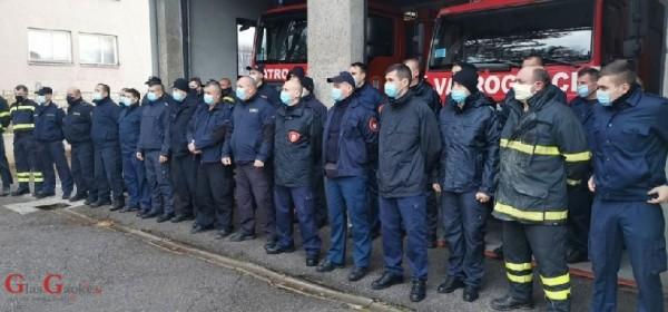 278 vatrogasaca i 76 vizila stiglo u Sisak i Petrinju