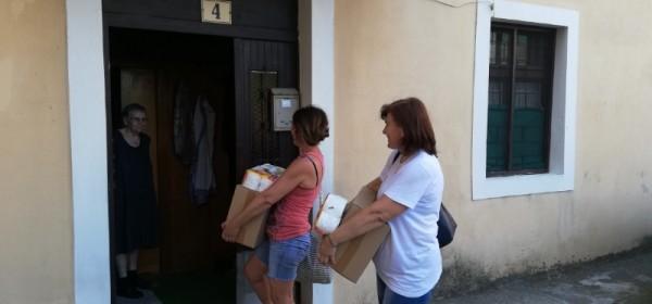 ZAŽELI – podjela kućanskih i higijenskih potrepština krajnjim korisnicima