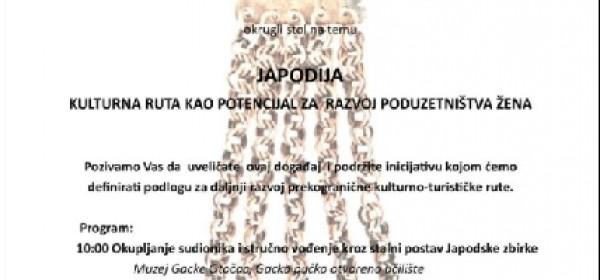U Petak u Otočcu okrugli stol o Japodiji kao potencijalu ženskog poduzetništva