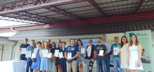 Održana svečana dodjela certifikata Korisnicima Lika Quality sustava